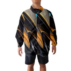 Abstract 3d Wind Breaker (kids)