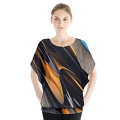 Abstract 3d Blouse