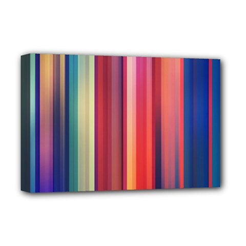 Texture Lines Vertical Lines Deluxe Canvas 18  x 12
