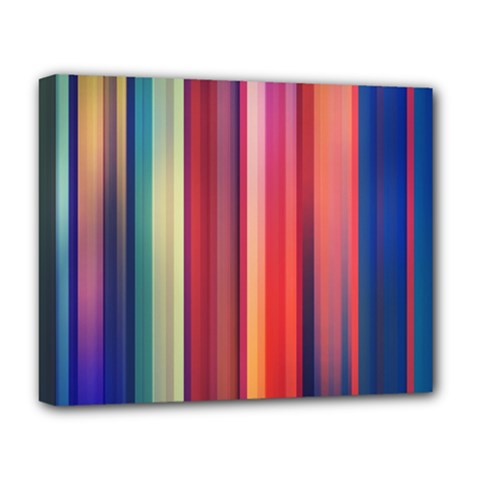 Texture Lines Vertical Lines Deluxe Canvas 20  X 16