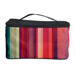 Texture Lines Vertical Lines Cosmetic Storage Case