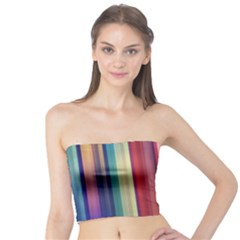 Texture Lines Vertical Lines Tube Top