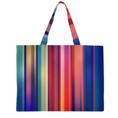 Texture Lines Vertical Lines Large Tote Bag