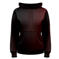 Abstract Dark Simple Red Women s Pullover Hoodie