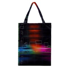 Abstract Binary Classic Tote Bag