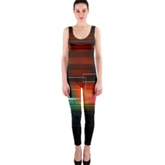 Abstract Binary OnePiece Catsuit