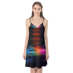 Abstract Binary Camis Nightgown