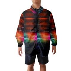 Abstract Binary Wind Breaker (Kids)