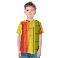 Abstract Minimalism Architecture Kids  Cotton Tee