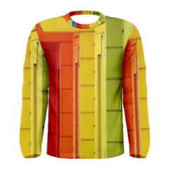 Abstract Minimalism Architecture Men s Long Sleeve Tee