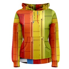 Abstract Minimalism Architecture Women s Pullover Hoodie