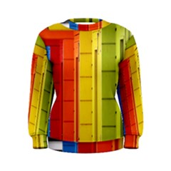 Abstract Minimalism Architecture Women s Sweatshirt
