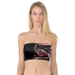 Hamburgers Digital Art Colorful Bandeau Top