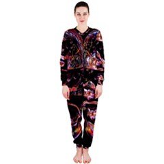 Hamburgers Digital Art Colorful OnePiece Jumpsuit (Ladies)