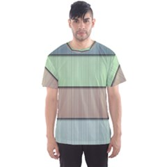 Lines Stripes Texture Colorful Men s Sport Mesh Tee