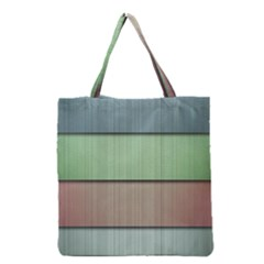 Lines Stripes Texture Colorful Grocery Tote Bag