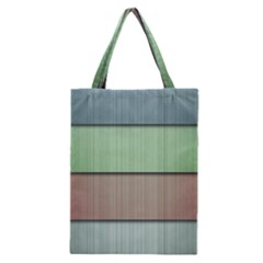 Lines Stripes Texture Colorful Classic Tote Bag