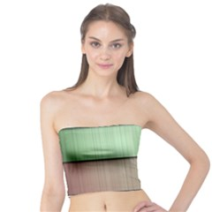 Lines Stripes Texture Colorful Tube Top