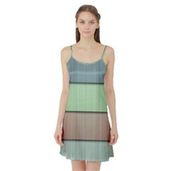 Lines Stripes Texture Colorful Satin Night Slip
