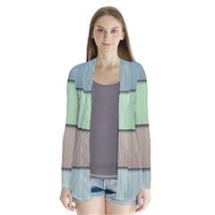 Lines Stripes Texture Colorful Cardigans