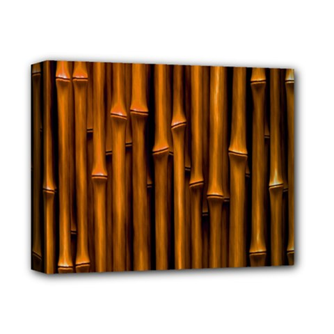 Abstract Bamboo Deluxe Canvas 14  x 11
