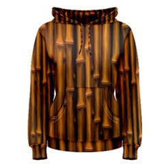 Abstract Bamboo Women s Pullover Hoodie