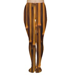 Abstract Bamboo Women s Tights