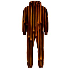 Abstract Bamboo Hooded Jumpsuit (Men)