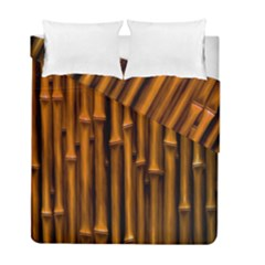 Abstract Bamboo Duvet Cover Double Side (full/ Double Size)