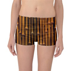 Abstract Bamboo Reversible Bikini Bottoms