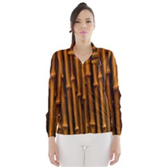 Abstract Bamboo Wind Breaker (women)