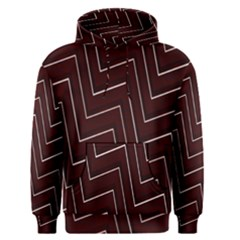 Lines Pattern Square Blocky Men s Pullover Hoodie