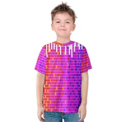 Square Spectrum Abstract Kids  Cotton Tee