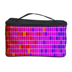Square Spectrum Abstract Cosmetic Storage Case