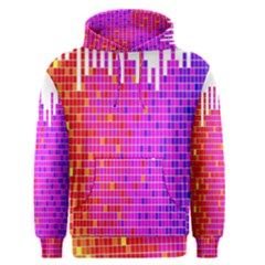 Square Spectrum Abstract Men s Pullover Hoodie