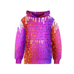 Square Spectrum Abstract Kids  Pullover Hoodie