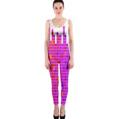 Square Spectrum Abstract OnePiece Catsuit