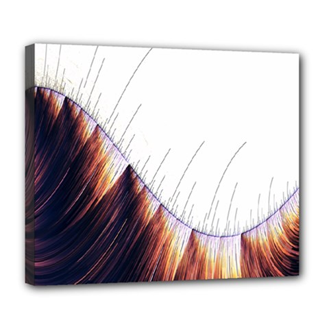 Abstract Lines Deluxe Canvas 24  X 20
