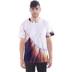 Abstract Lines Men s Sport Mesh Tee