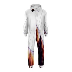 Abstract Lines Hooded Jumpsuit (kids)