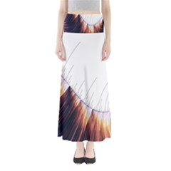 Abstract Lines Maxi Skirts