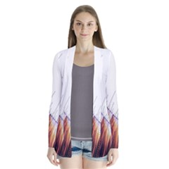 Abstract Lines Cardigans