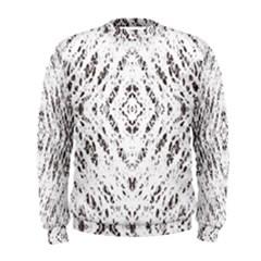 Pattern Monochrome Terrazzo Men s Sweatshirt