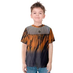 Rainbows Landscape Nature Kids  Cotton Tee