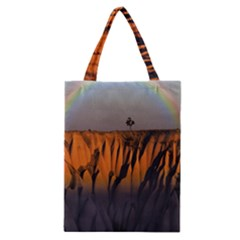 Rainbows Landscape Nature Classic Tote Bag