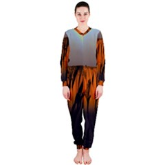 Rainbows Landscape Nature Onepiece Jumpsuit (ladies)