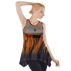 Rainbows Landscape Nature Side Drop Tank Tunic