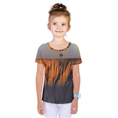 Rainbows Landscape Nature Kids  One Piece Tee