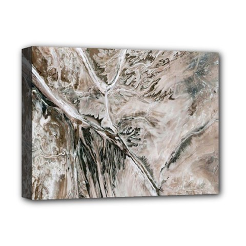 Earth Landscape Aerial View Nature Deluxe Canvas 16  X 12