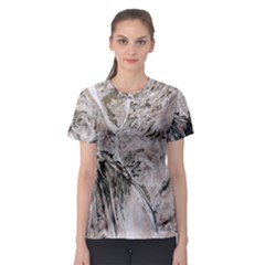Earth Landscape Aerial View Nature Women s Sport Mesh Tee
